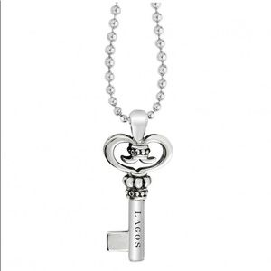 Lagos Sterling Silver Key Chain Necklace